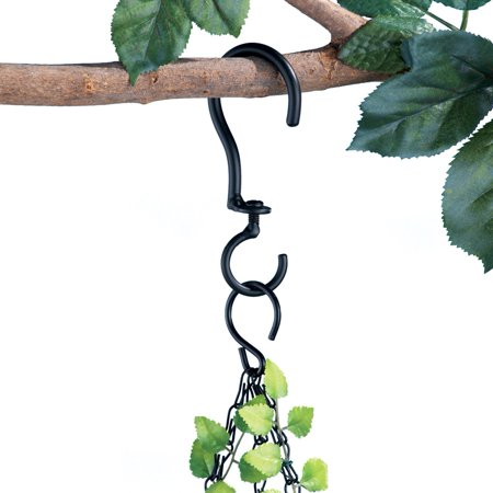 Swivel Hanging Basket Hooks - Set Of 3