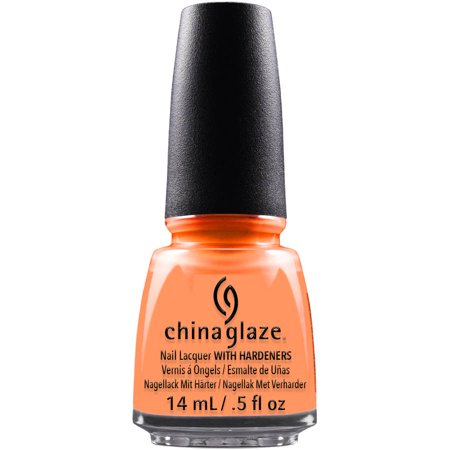 China Glaze Nail Lacquer with Hardeners, Flip Flop Fantasy, 0.5 fl oz - Walmart.com