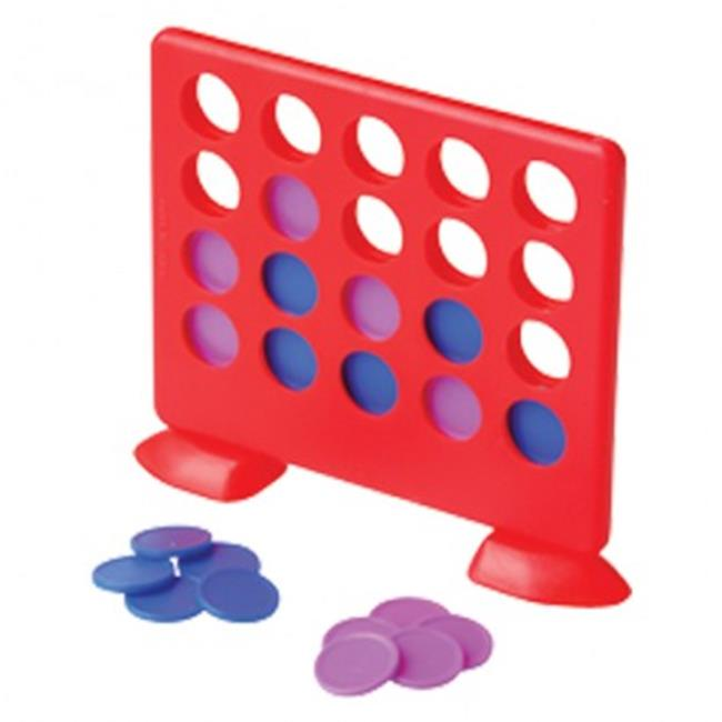 US Toy Company 4341X6 4 in. A Row Games - 12 Per Pack - P...
