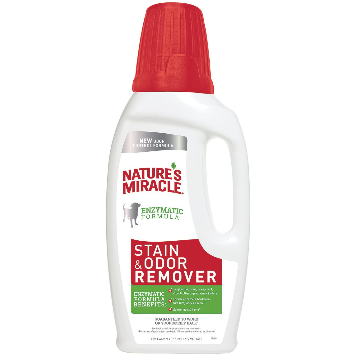 Nature's Miracle Enzymatic Stain and Odor Remover for Dogs, 32oz