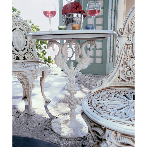 Design Toscano Regent's Park Dragon Bistro Table