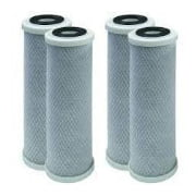 4 Pack of Compatible Filters for  RV Trailer Camper Fresh Water 10 Carbon Paper Filter SHURflo 155002-43 by CFS