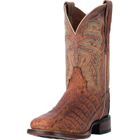 Dan Post Mens Denver Cowboy Certified 11 Square Toe Boots Brown Leather 8 Ew