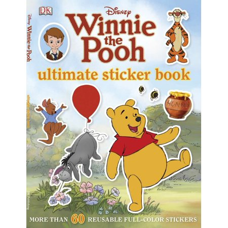 Ultimate Sticker Book: Winnie the Pooh (Paperback)