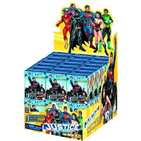 HeroClix Justice League The New 52 Gravity Feed Box