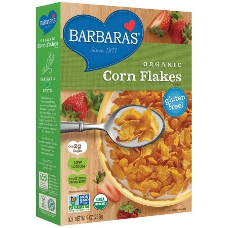 Barbara's Bakery Organic Corn Flakes 9 oz