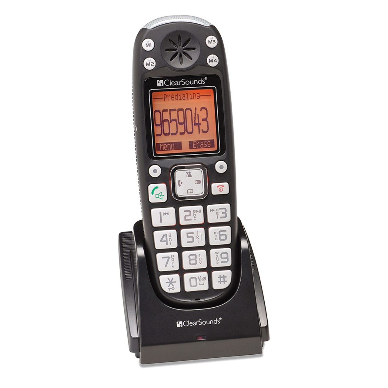 Clearsounds DECT 6.0 25dB Amplified Expandable Cordless H...