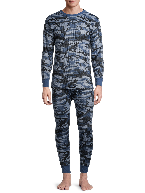 Mens Thermal Long Johns//Pants//Bottoms Colour Dark Grey//Charcoal Size Large