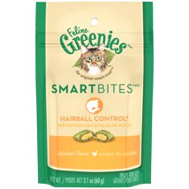 Cat Treats: Greenies Smartbites Hairball Control