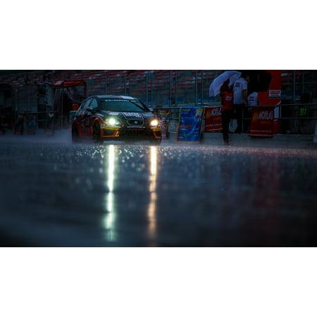 LAMINATED POSTER Race Race 24h Series Rain Poster Print 24 x 36