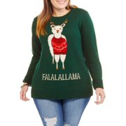 Holiday Women's Plus Falalallama Pullove