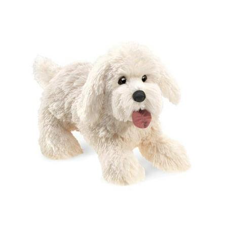 Folkmanis 3053 Panting Dog Hand Puppet Plush Dragon Plush Hand Puppet