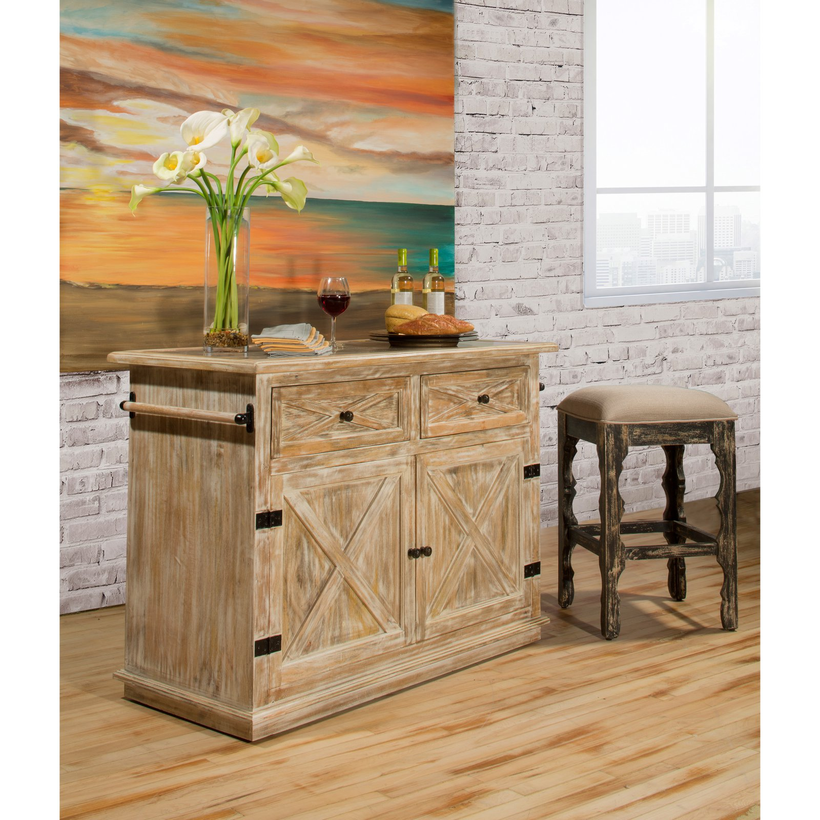 Hillsdale Carter Kitchen Island