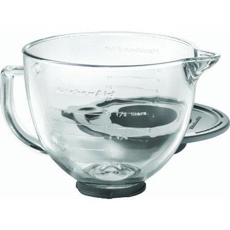 Kitchenaid k5gb 5 qt glass bowl for 5 qt tilt head stand mixer - Kitchenaid accessories walmart ...