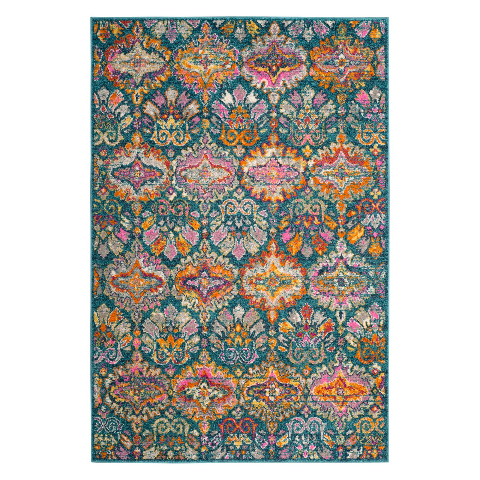 Safavieh Madison Britton Geometric Floral Area Rug or Runner