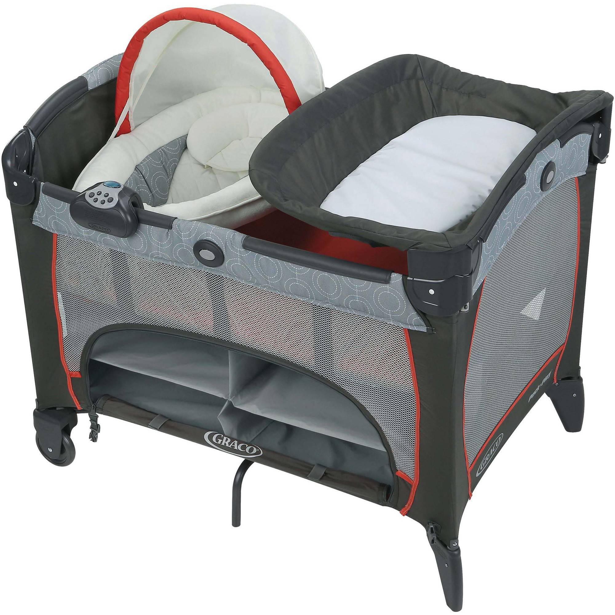 Graco Pack 'n Play Play Pen with Newborn Napper DLX, Solar by Graco