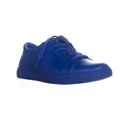 Womens Kenneth Cole REACTION Joey Lace-Up Sneakers, Blue, 9 US / 40 EU (Kenneth Cole Reaction Girls Shoes)