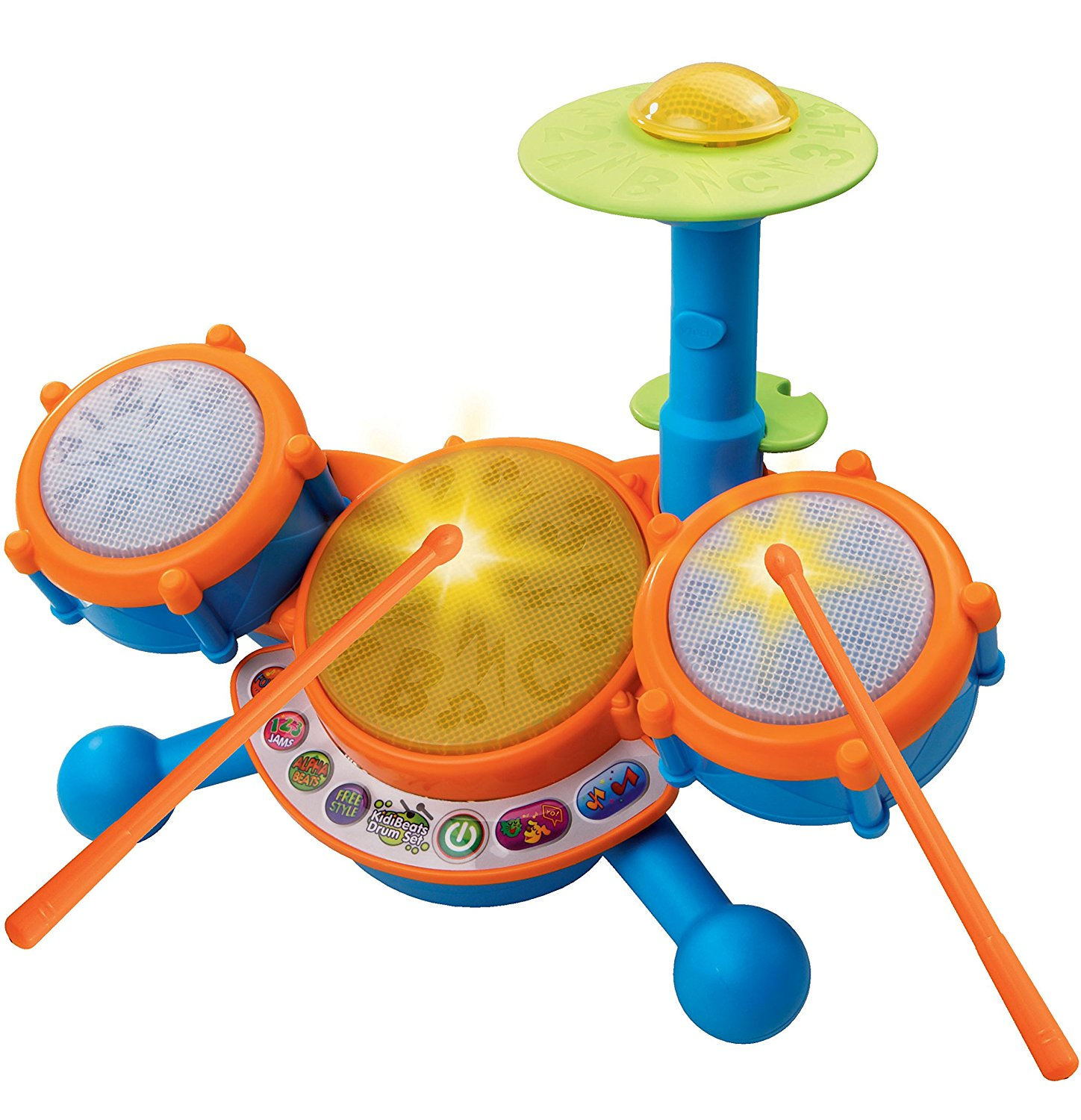 KidiBeats Kids Drum Set By VTech Ship from US by