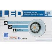 """Liteline Corporation 4"""" New Const Whte Baffle RC40101-LED-PW-WH"""
