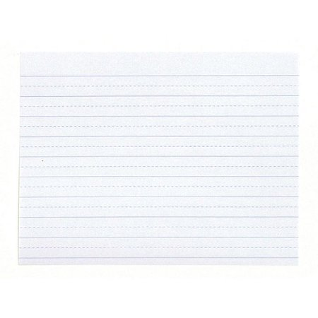 School Smart Lined Writing Paper, No Margin, 10-1/2 x 8 Inches, 500 Sheets (School Lined Paper)