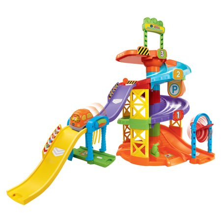 Toy Tower (VTech Go! Go! Smart Wheels Spinning Spiral Tower Playset )