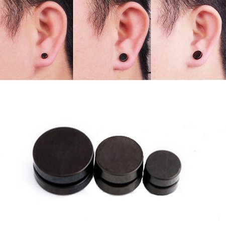6mm 1pcs Magnetic Stud Earrings For Men Stainless Steel Magnet Jewelry And Women