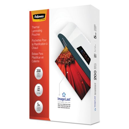 Fellowes ImageLast Laminating Pouches with UV Protection, 5mil, 11 1/2 x 9, 200/Pack