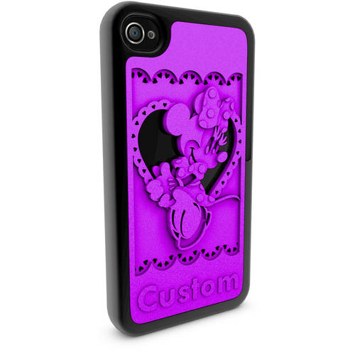 Apple iPhone 4 and 4S 3D Printed Custom Phone Case - Disney Classics - Minnie