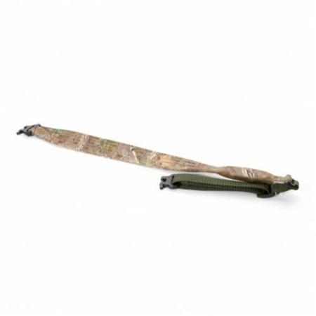 Limbsaver Rifle Sling - LimbSaver Kodiak Lite Rifle Sling STD Swivels, Realtree Xtra Green