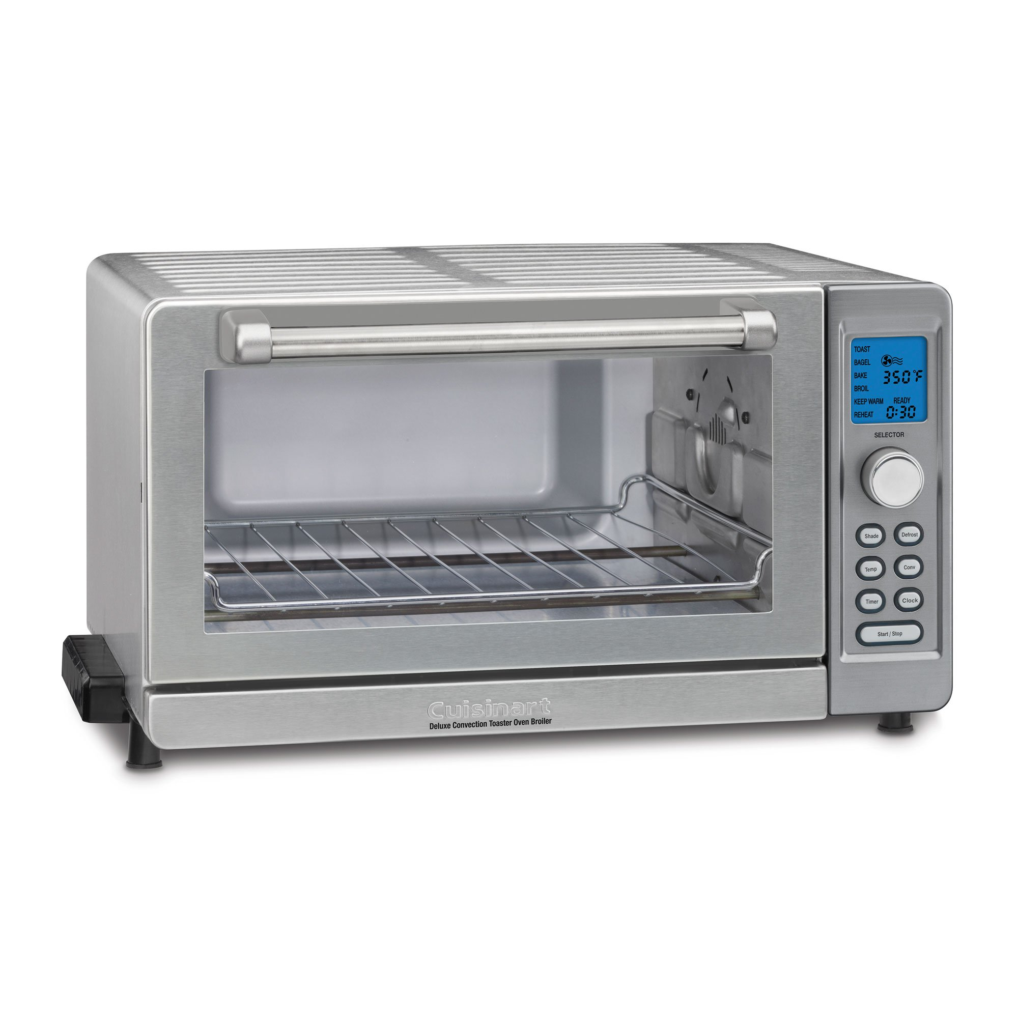 Cuisinart Deluxe Convection Broiler Pizza & Toaster Oven (Certified Refurbished)