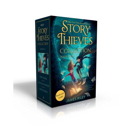 Story Thieves Collection Books 1-3 (Bookmark inside!) : Story Thieves; The Stolen Chapters; Secret Origins](Halloween Bookmarks To Make)