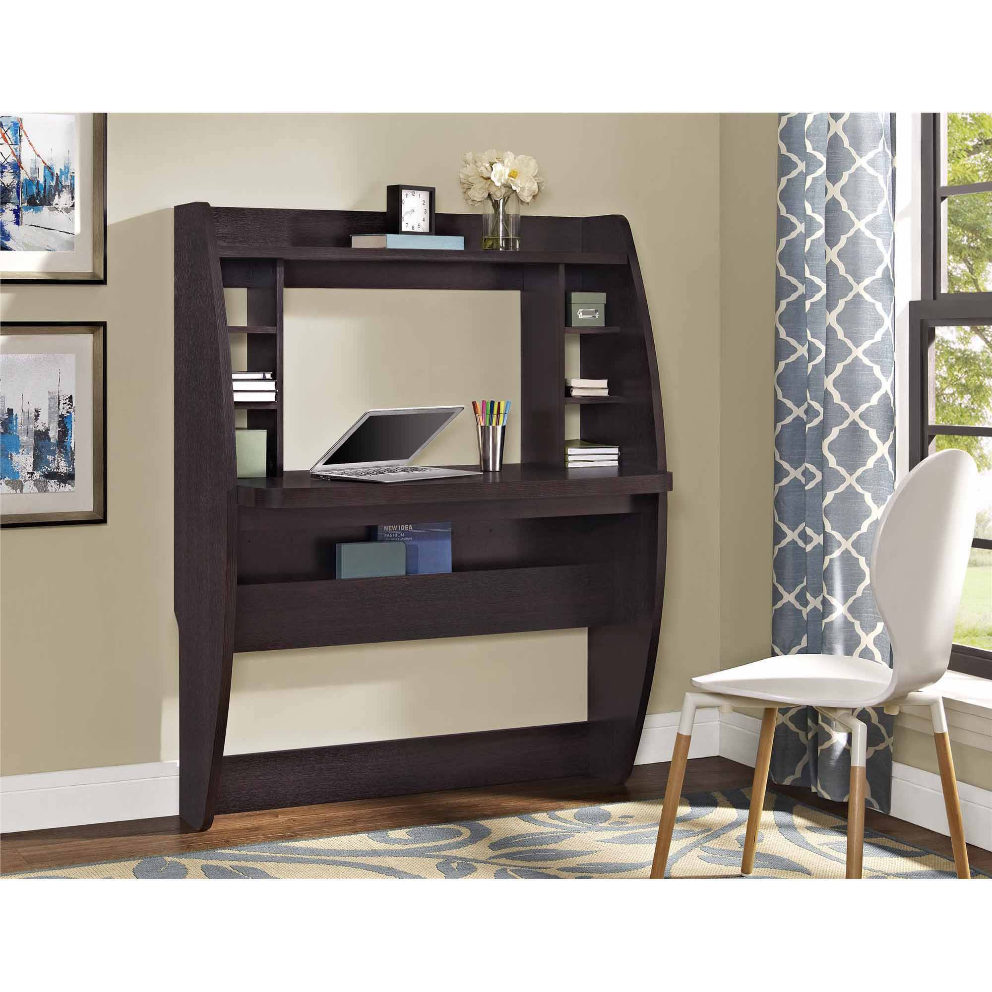 Altra Jace Wall Mounted Desk, Espresso