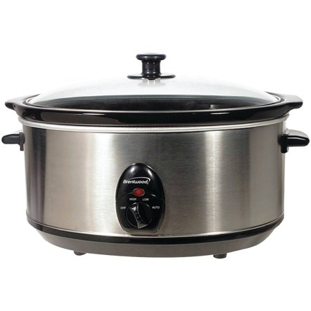 Brentwood Appliances SC-150S 6.5-Quart Stainless Steel Slow Cooker
