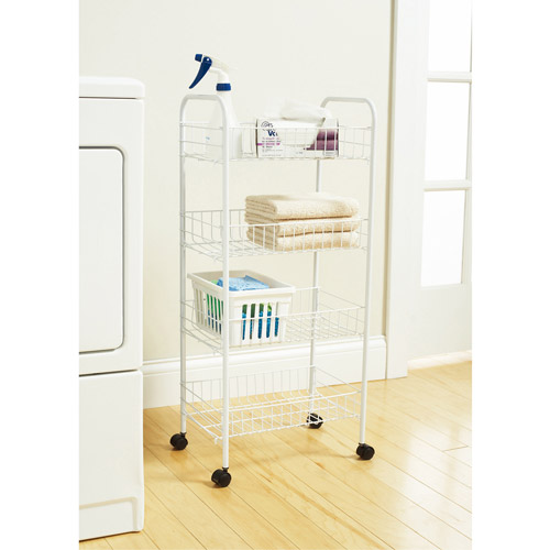 Mainstays 4-tier Wire Cart
