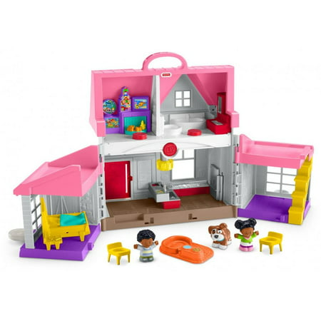 Little People Big Helpers Interactive Home Play Set with Sounds