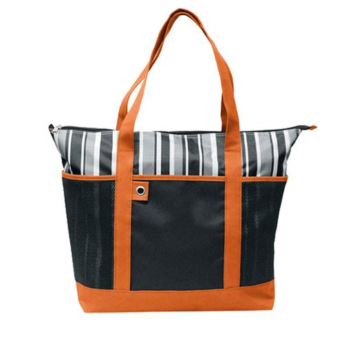 Goodhope Large Fashion Shopper Tote Bag Orange