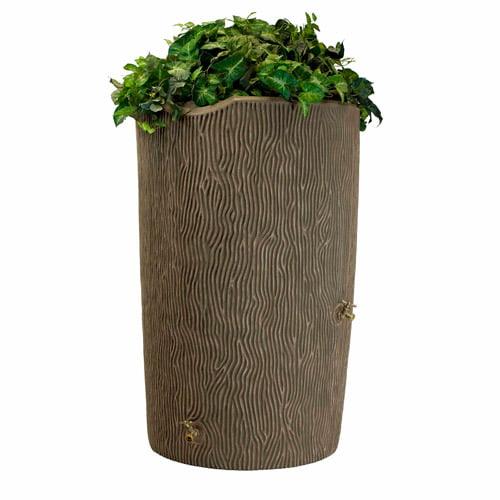 Impressions 90-Gallon Bark Rain Saver, Khaki