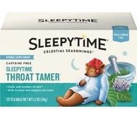 (2 Pack) Celestial Seasonings Wellness Tea, Sleepytime Throat Tamer, 20 Count