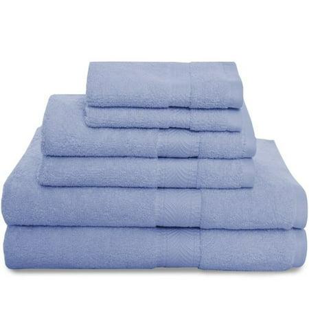 Revere Olive (Revere Mills Montgomery 6 Piece 100pct Cotton Towel Set )