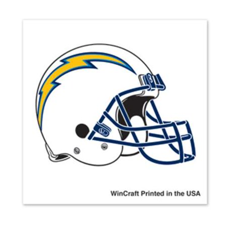 San Diego Chargers Temporary Tattoo - 4 Pack