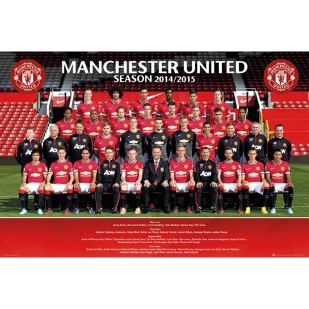 Manchester United Team 14/15 Poster - 36x24 ()