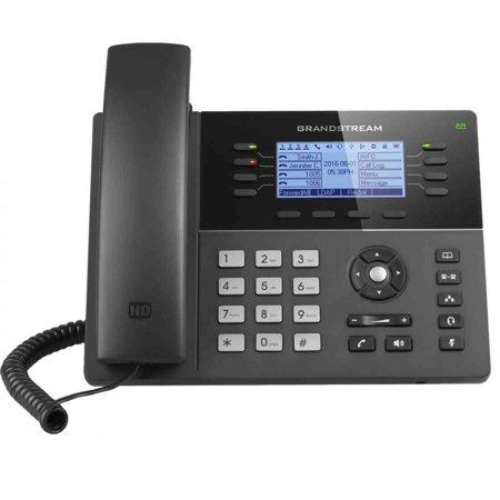 Grandstream GXP1782 MID-RANGE IP Phone 4 SIP Accounts 8 Lines Dual Gigabit Ports ()