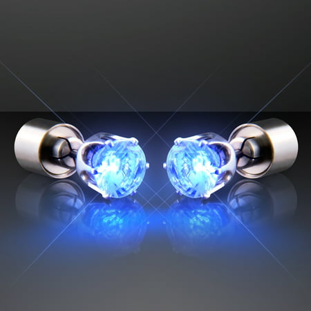 FlashingBlinkyLights Light Up LED Earrings for Pierced Ears