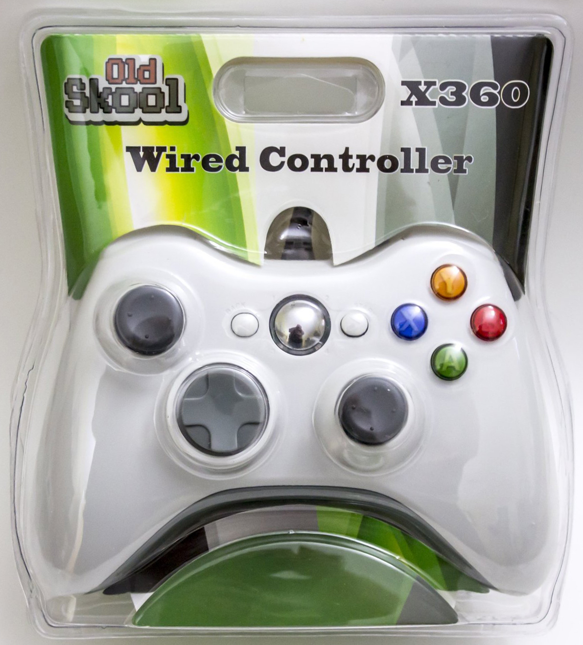 Wired Usb Controller For Pc Xbox 360 White Walmart Com Walmart Com
