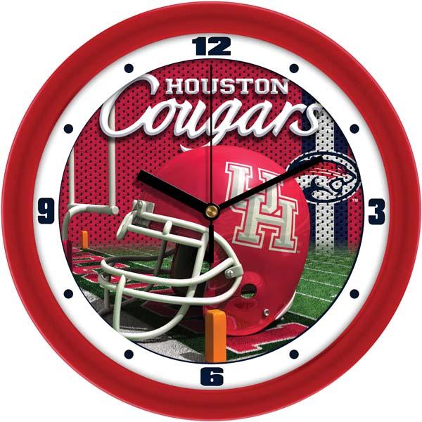 Houston Football Helmet Wall Clock