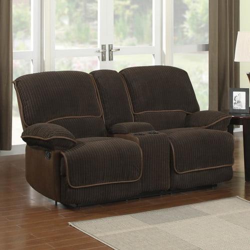 Drummond Living Room Set Dusk Jackson Furniture: Sunset Trading Jackson Reclining Loveseat With Console