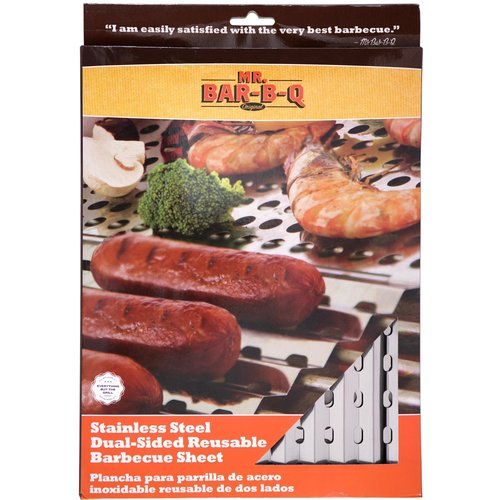 Mr. Bar-B-Q Reusable Grill Sheet
