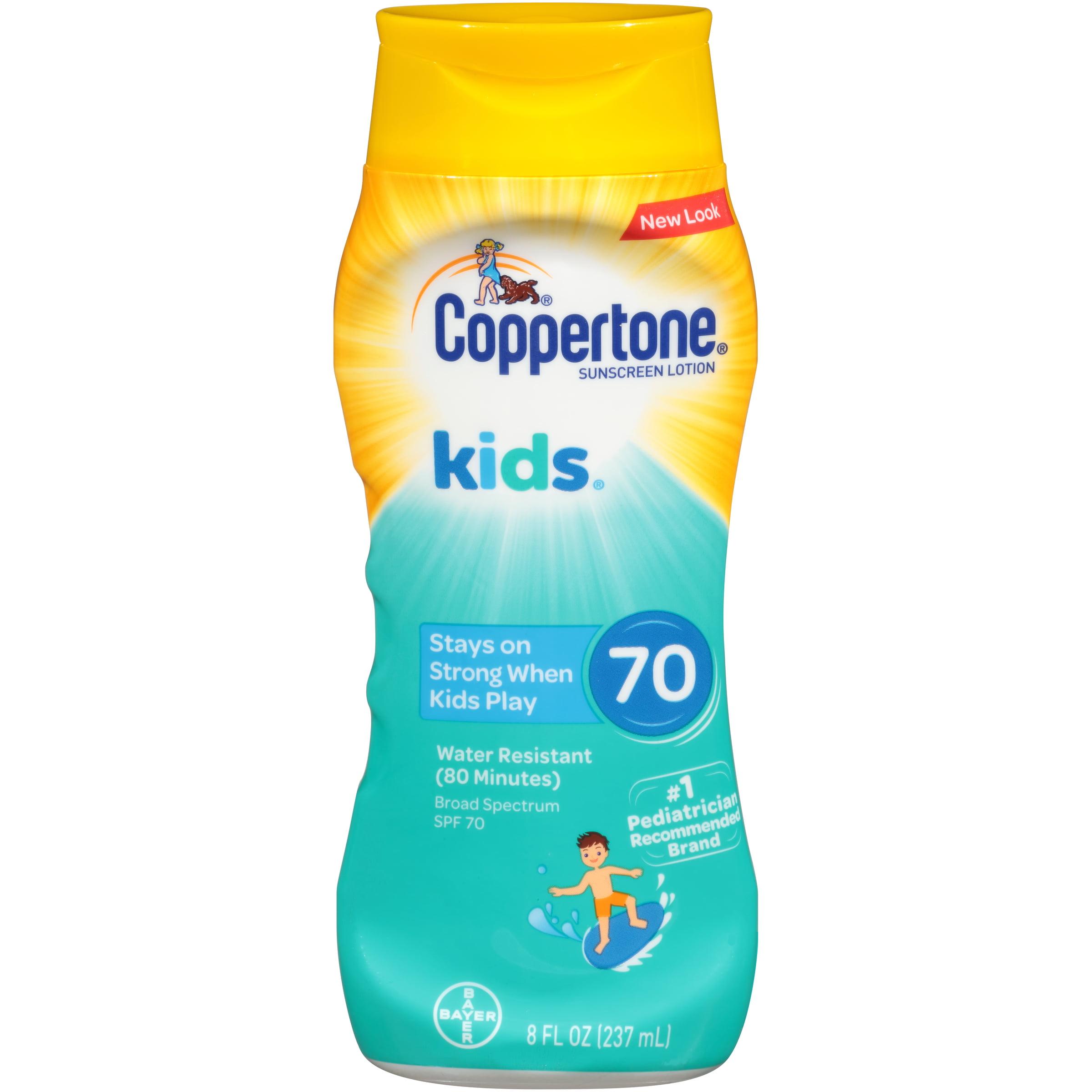 Coppertone Kids Sunscreen Water Resistant Spray SPF 70, 8 fl oz
