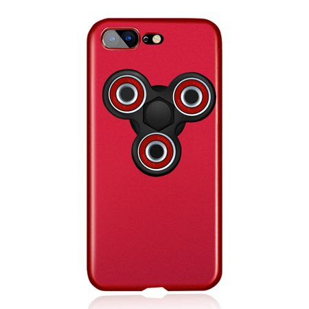 Comaie 2-in-1 Fidget Spinner Case Frosted Phone Case - image 1 of 1