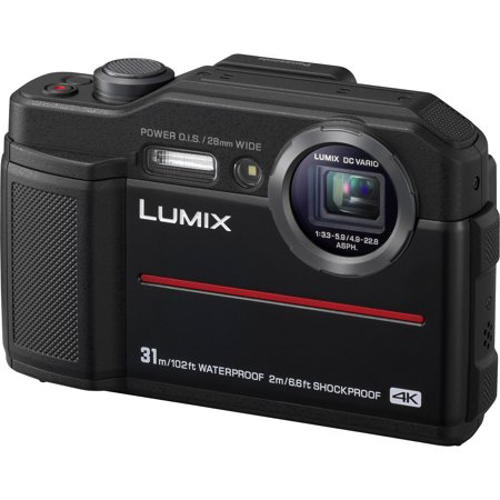Panasonic Lumix DC-TS7 4K Tough Shock & Waterproof Digital Camera